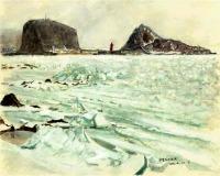 宇登呂の流氷